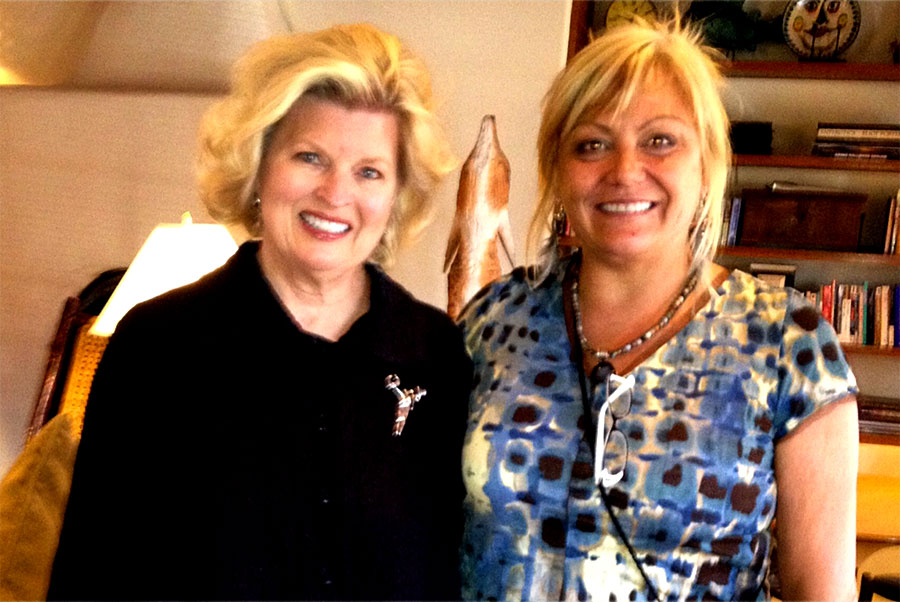 Sonnee and Dr. Suzie LaFreniere, Women's Leadership Training, Santa Fe, NM 2014