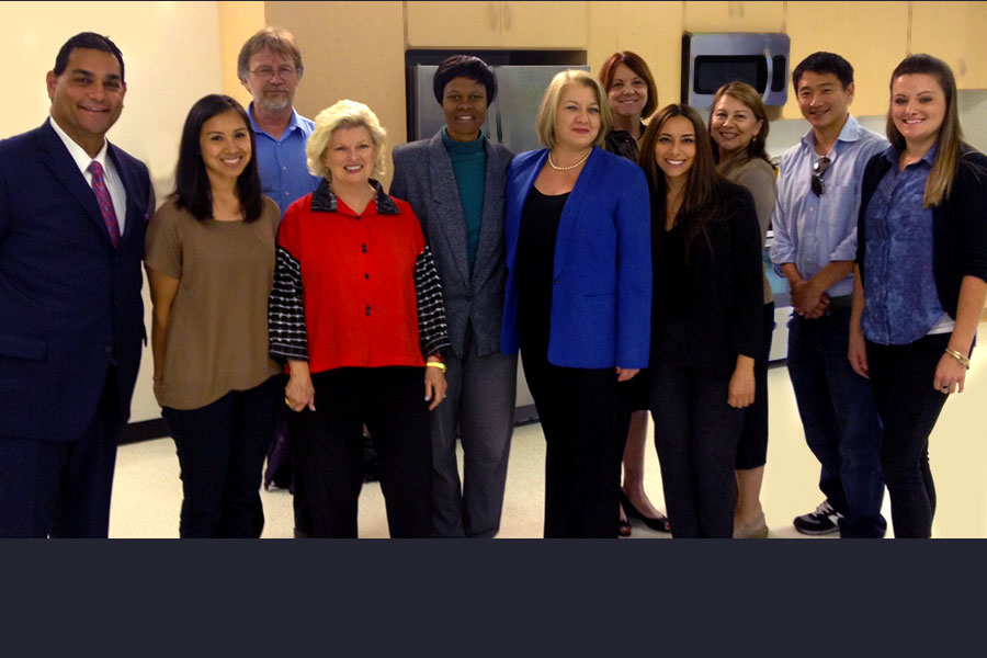 The consortium committee for Deep Space Exploration (DSR-30). At Stanbridge College, Santa Ana, CA, 2015.