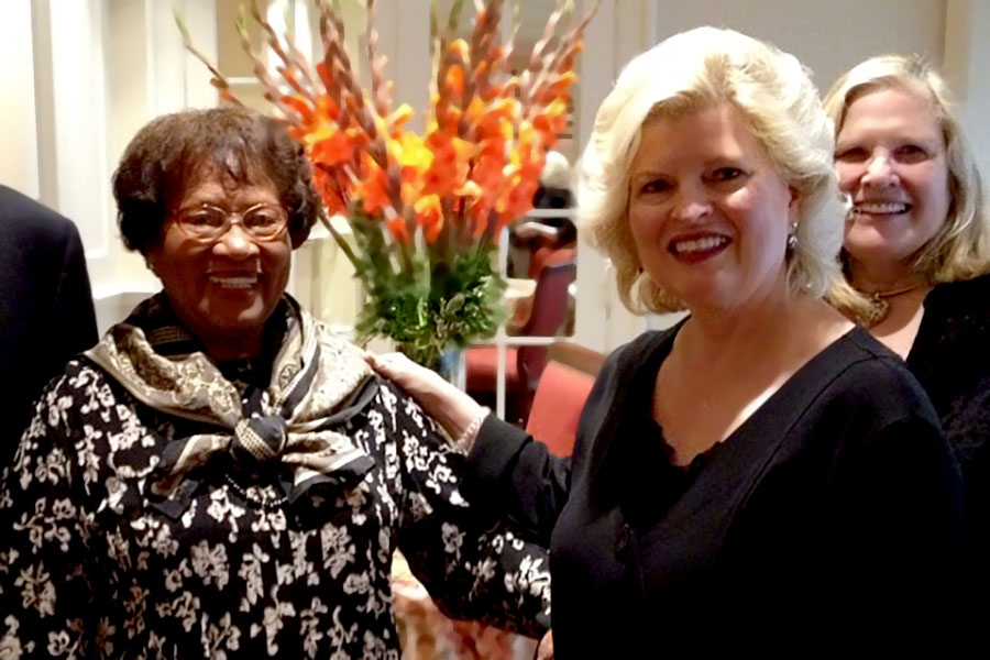 Dinner with Dr. Joycelyn Elders, our former Surgeon General, and Dr. Betty Everett – Little Rock, AR 2014