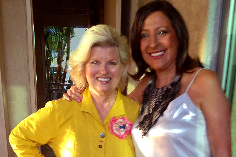 Sonnee and Dr. Ana Nogales, Founder of Nogales Counseling Center and La Casa de la Familia, Irvine, CA 2014