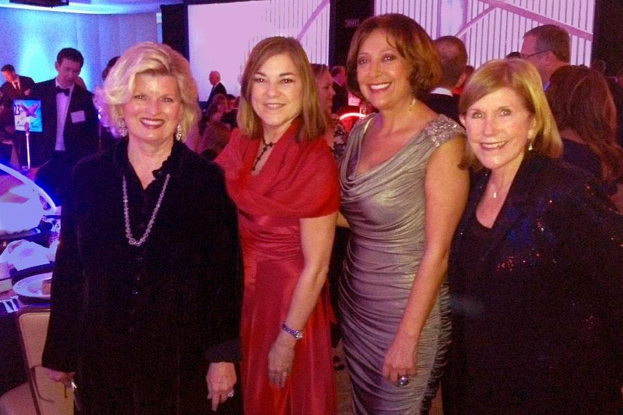 Sonnee, Representative Loretta Sanchez, Dr. Ana Nogales, Janet Ray, Innovators Gala, Newport Beach, CA 2014