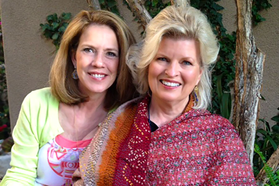 With Patti Bailey at fund-raising event in Newport Coast for Lama Tenzin Choegyal's CED House