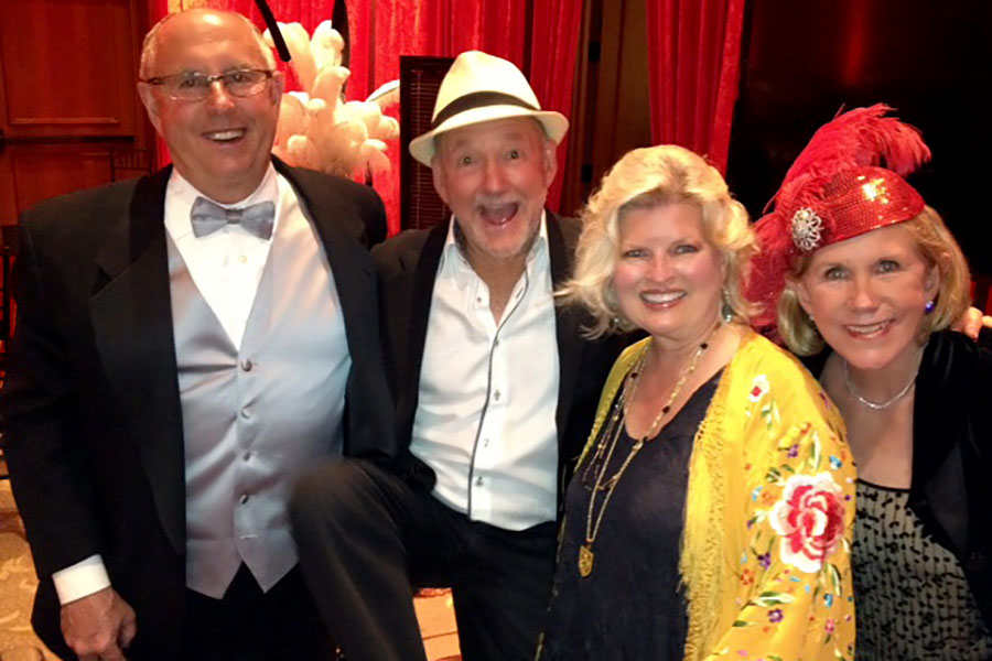 With Walkie and Janet Ray and Greg MacGillivary at Options gala supporting victims of domestic violence, Balboa Bay Club and Resort, 2014
