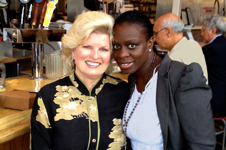 With Sekyiwa Shakur – Sausalito, CA 2014